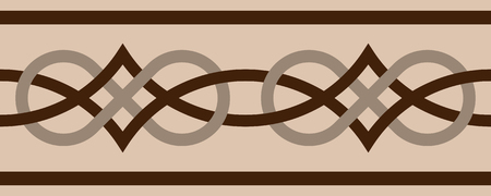 Vector seamless Celtic pattern.