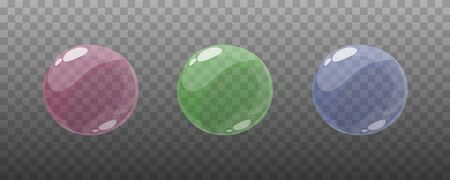 The game cartoon bubble frames for animation Vettoriali