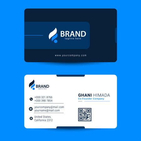 Elegant business card design template