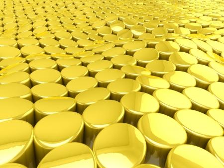 3D Golden background photo