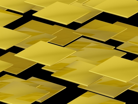 3D tiles background Stock Photo - 18326958