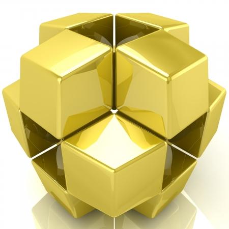 3D tiles background Stock Photo - 18326937