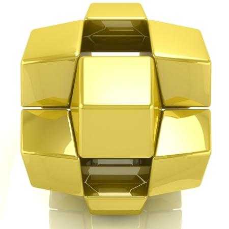 3D tiles background Stock Photo - 18326909