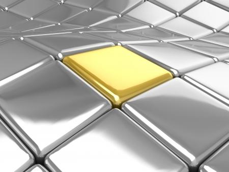 3D tiles background Stock Photo - 18326949