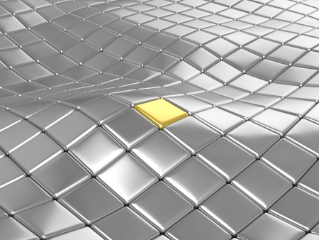 3D tiles background Stock Photo - 18327237