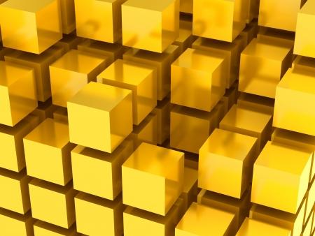 3D tiles background Stock Photo - 18326867