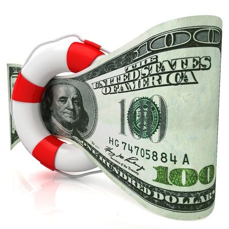 Dollar rescue concept