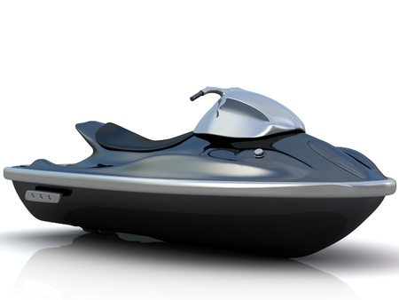 Water scooter  Stock Photo