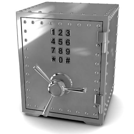 Security metal safe photo