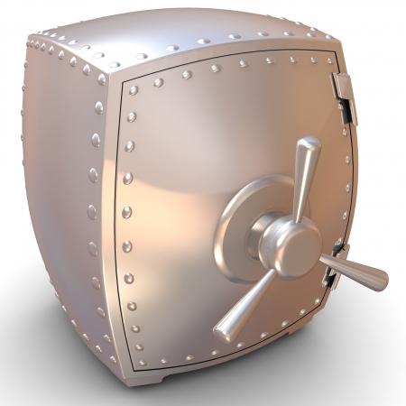 Security metal safe Stock Photo - 18337457