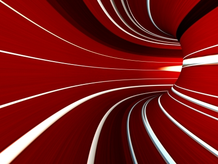 Abstract striped 3d the image for a background Stock Photo - 18337699