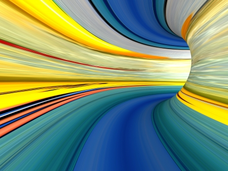 Abstract striped 3d the image for a background Stock Photo - 18337766