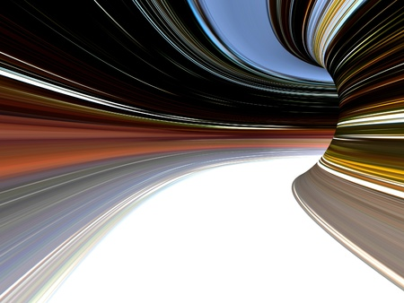 Abstract striped 3d the image for a background Stock Photo - 18337736