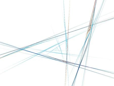 Fractal Illustration background. Abstract graphic. Rendered image. Stock Illustration - 18360518