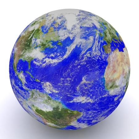 3D Globe.