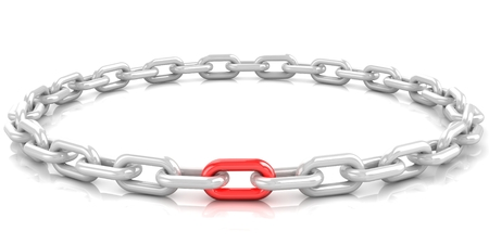 The weakest or strongest link in a chain concept