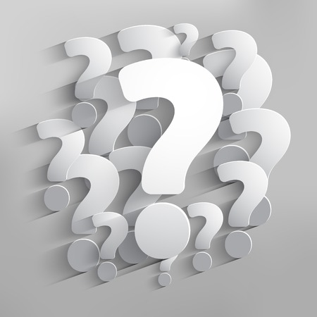 internet mark: Question mark web icons background illustration. Illustration