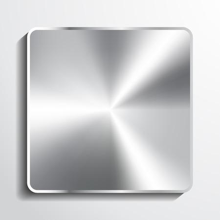 metal button illustration.