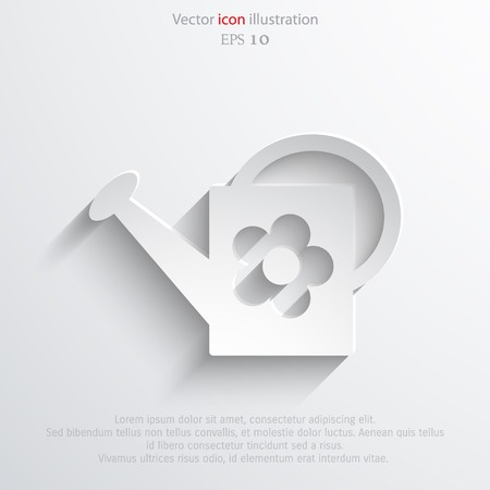 bailer: Vector bailer web icon