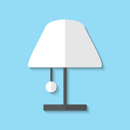 Vector lamp web icon Ilustrace