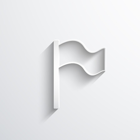 reference: flag web icon.