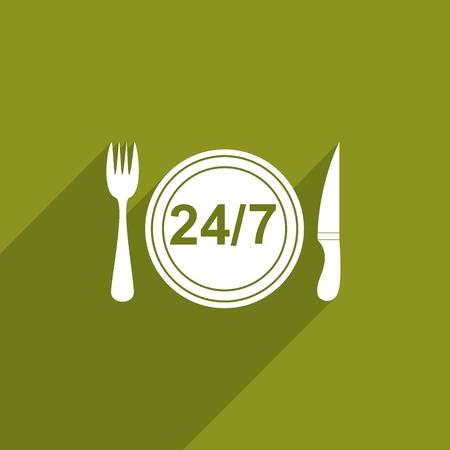 twenty four hour: twenty four hour delivery food