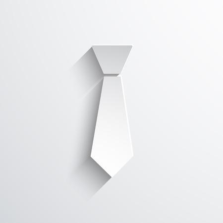 dresscode: necktie web flat icon