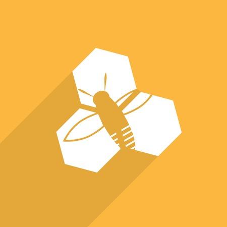 praiseworthy: honey cells web icon