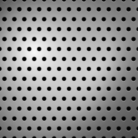 Vector seamless metallic pattern design background texture. Vector
