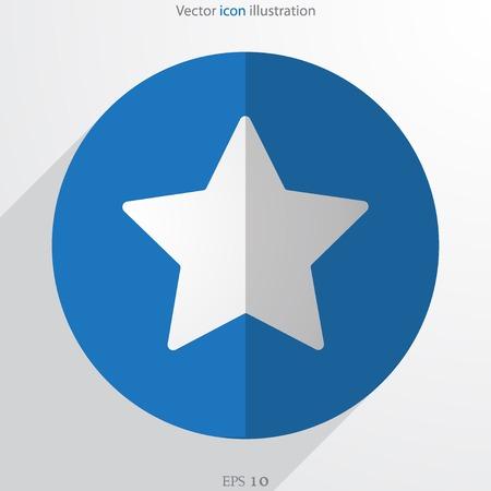 Vector star web icon Vector