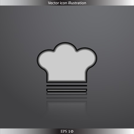replaceable: Vector cooking cap web icon