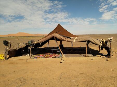 Morocco tent Reklamní fotografie