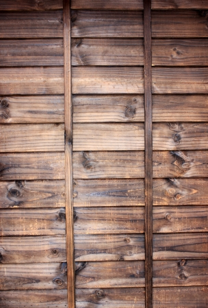 Walls made of wood are durable and beautiful Stock Photo - 13706652