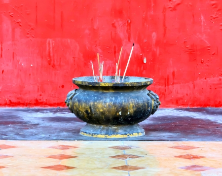 For  incense by people in time religious festivals. Stock Photo