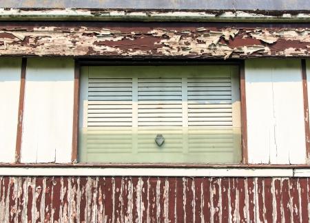 bogie: The window on bogie train old it is show in garden