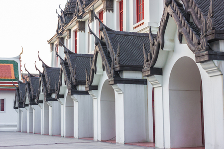 Wat Ratchanatdaram on bagkok thailand