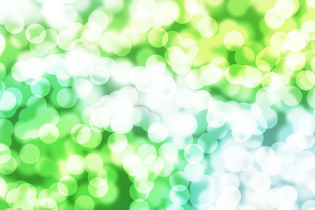 abstract boke on green background