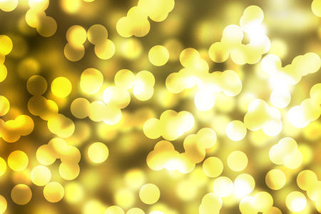 abstract boke on gold background
