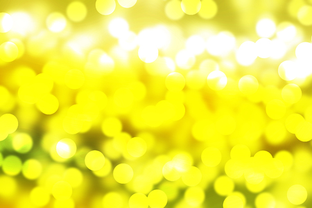 abstract boke yellow on gold background