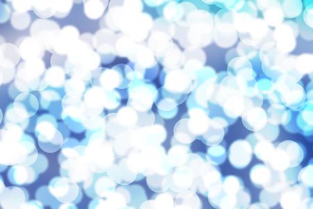 boken blur on blue background Stock Photo