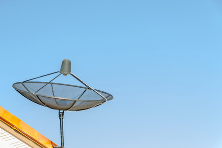 satellite  and sky  on day time Stock Photo