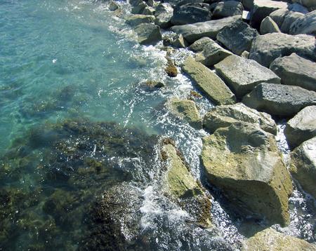 rocky beach Фото со стока - 36525366