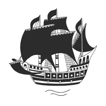 embleem voor bedrijven, vector illustratie.