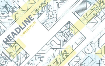 imprenta: Fondo geométrico abstracto. Fondo del vector para la industria de impresión y el papel. formas vectoriales lineales para el diseño, carteles, tarjetas de visita, cubiertas, impresión, folletos, libros y folletos.