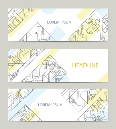printing business: Business card with abstract background for architectural or printing company. Vector background for printing and paper industry.