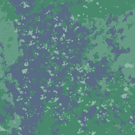 Seamless pattern background blue and green old paint. Vintage surfac