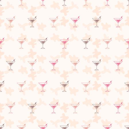 bebidas alcohÓlicas: Seamless pattern background alcoholic beverages. Alcohol vector. Tequila wallpaper