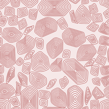 Turtle seamless pattern background. Red and pink tortoise vector illustration. Terrapin fashion textile. 向量圖像