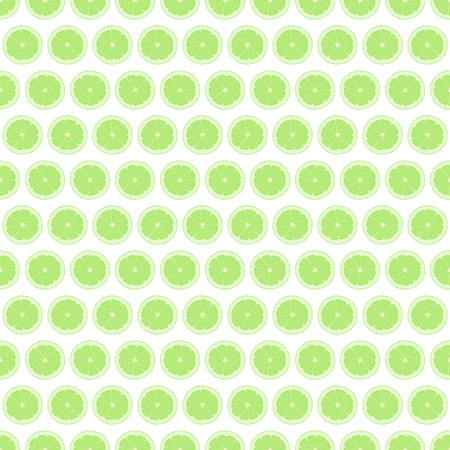 Seamless pattern background lime. Citrus fruit vector illustration.