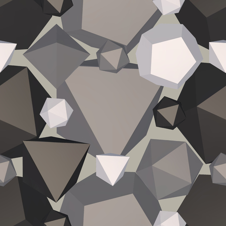 Geometric shaped backdrop. Vector illustration.